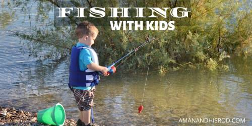 kid fishing from the bank