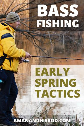 bass fishing early spring tactics image