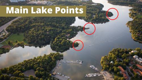 example of main lake points