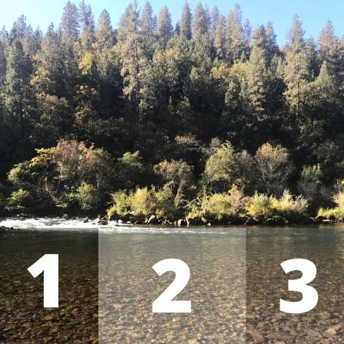 identifying zones in the water